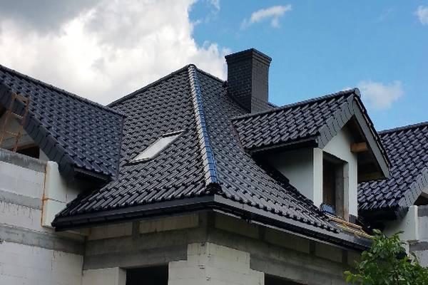 Dach w domu pojedyńczy